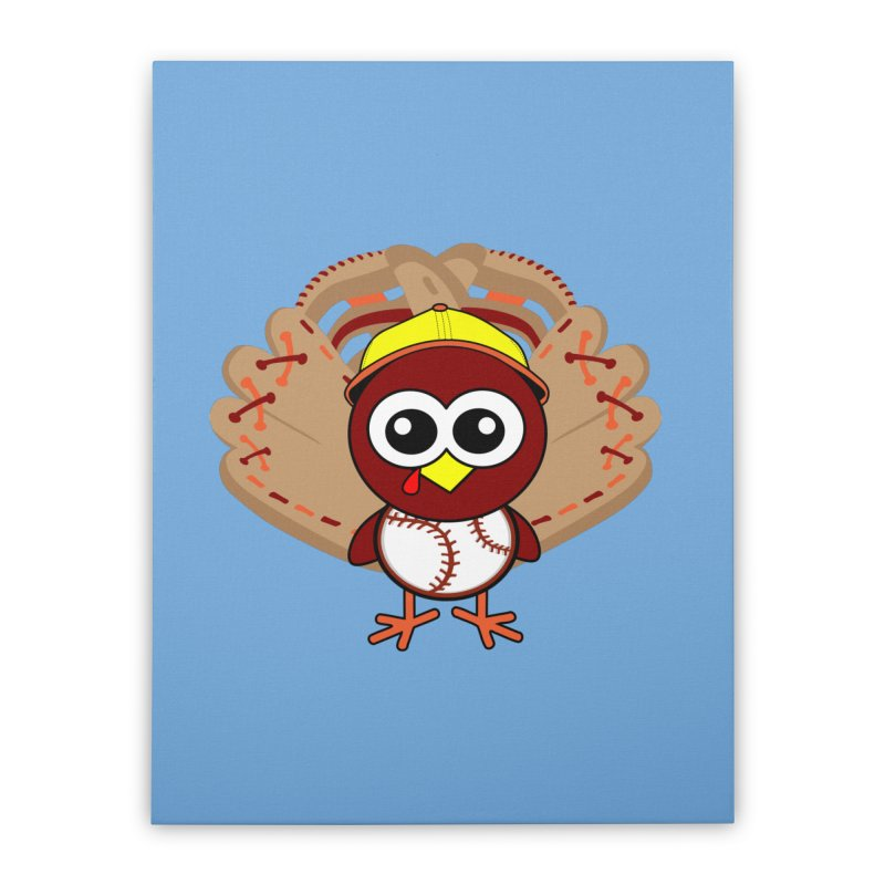 Turkey Time! Home Stretched Canvas by HIDENbehindAroc's Shop