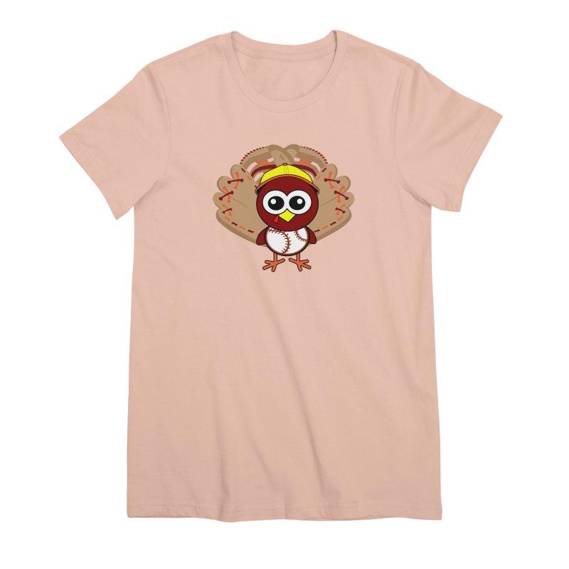 Turkey Time! Women's Premium T-Shirt by HIDENbehindAroc's Shop