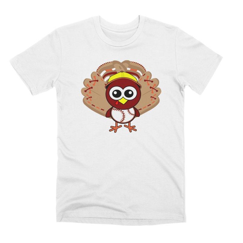 Turkey Time! Men's Premium T-Shirt by HIDENbehindAroc's Shop