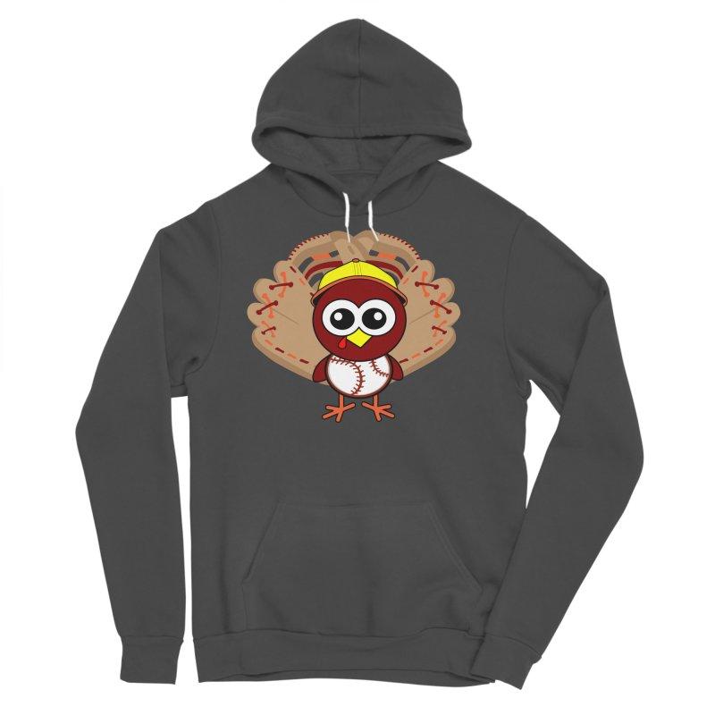 Turkey Time! Men's Sponge Fleece Pullover Hoody by HIDENbehindAroc's Shop