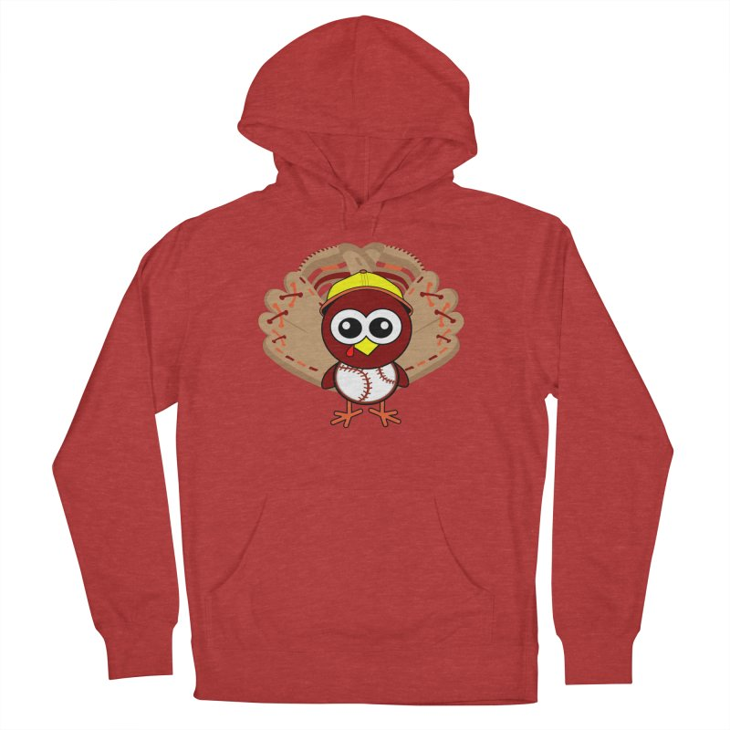 Turkey Time! Women's French Terry Pullover Hoody by HIDENbehindAroc's Shop