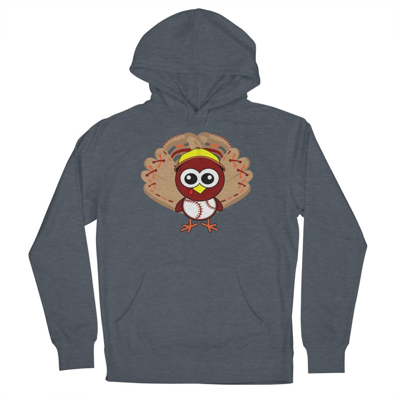 Turkey Time! Men's French Terry Pullover Hoody by HIDENbehindAroc's Shop
