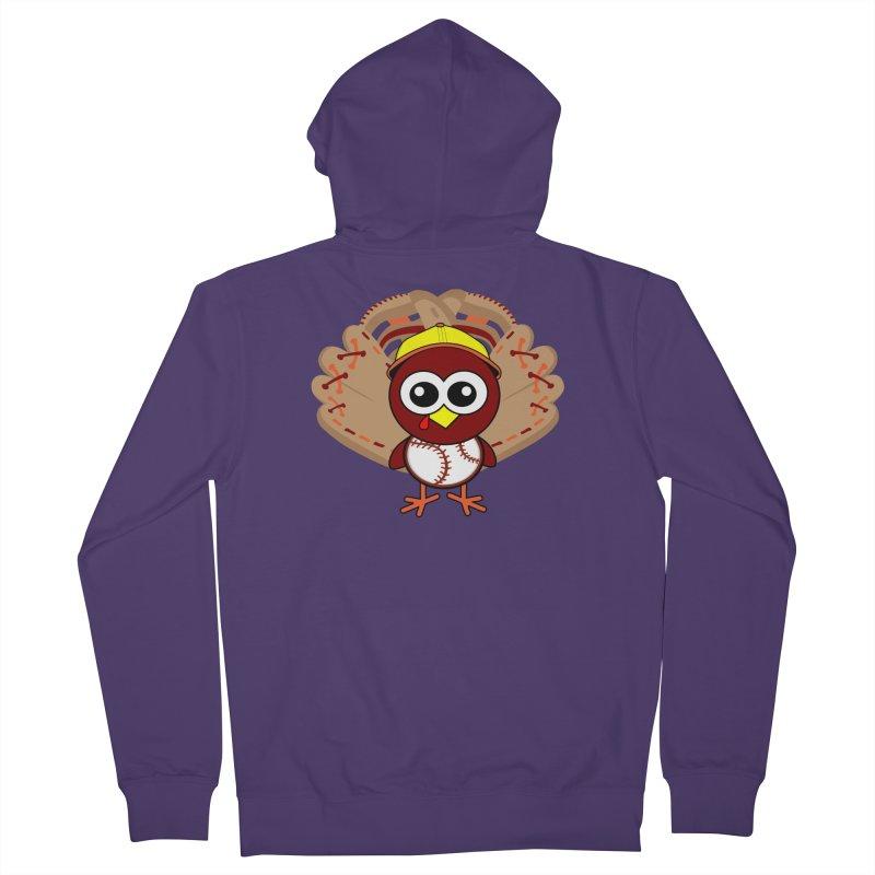 Turkey Time! Women's Zip-Up Hoody by HIDENbehindAroc's Shop