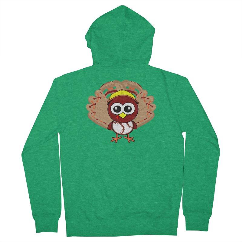 Turkey Time! Men's Zip-Up Hoody by HIDENbehindAroc's Shop