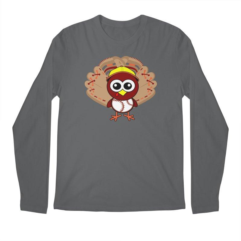 Turkey Time! Men's Regular Longsleeve T-Shirt by HIDENbehindAroc's Shop