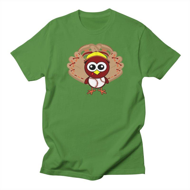 Turkey Time! Women's Regular Unisex T-Shirt by HIDENbehindAroc's Shop