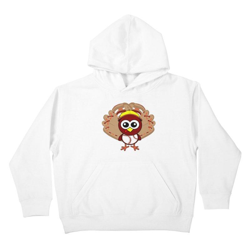 Turkey Time! Kids Pullover Hoody by HIDENbehindAroc's Shop