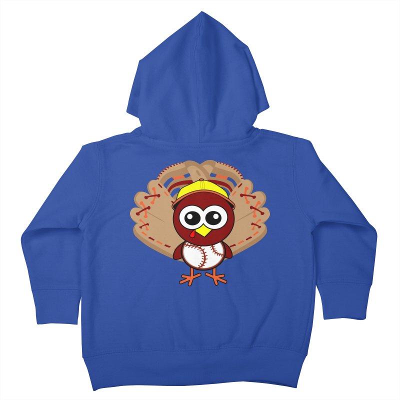 Turkey Time! Kids Toddler Zip-Up Hoody by HIDENbehindAroc's Shop