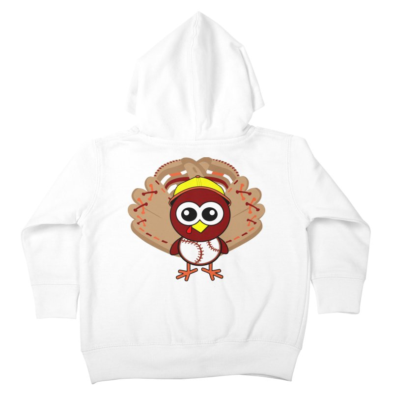 Turkey Time! Kids Toddler Zip-Up Hoody by HIDENbehindAroc's Shop