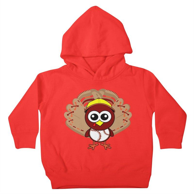 Turkey Time! Kids Toddler Pullover Hoody by HIDENbehindAroc's Shop