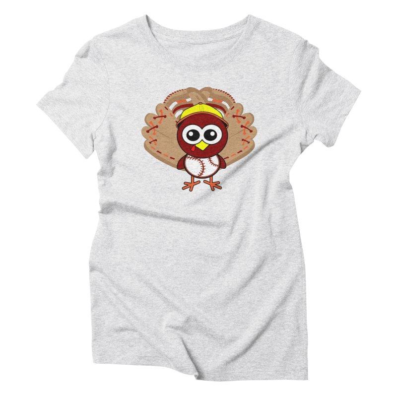 Turkey Time! Women's T-Shirt by HIDENbehindAroc's Shop