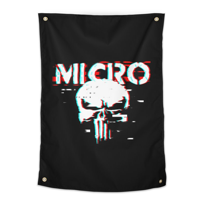 The Punisher's Sidekick Home Tapestry by HIDENbehindAroc's Shop