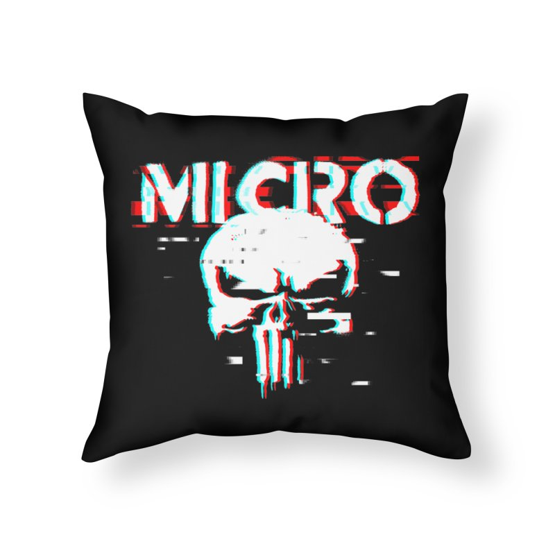 The Punisher's Sidekick Home Throw Pillow by HIDENbehindAroc's Shop