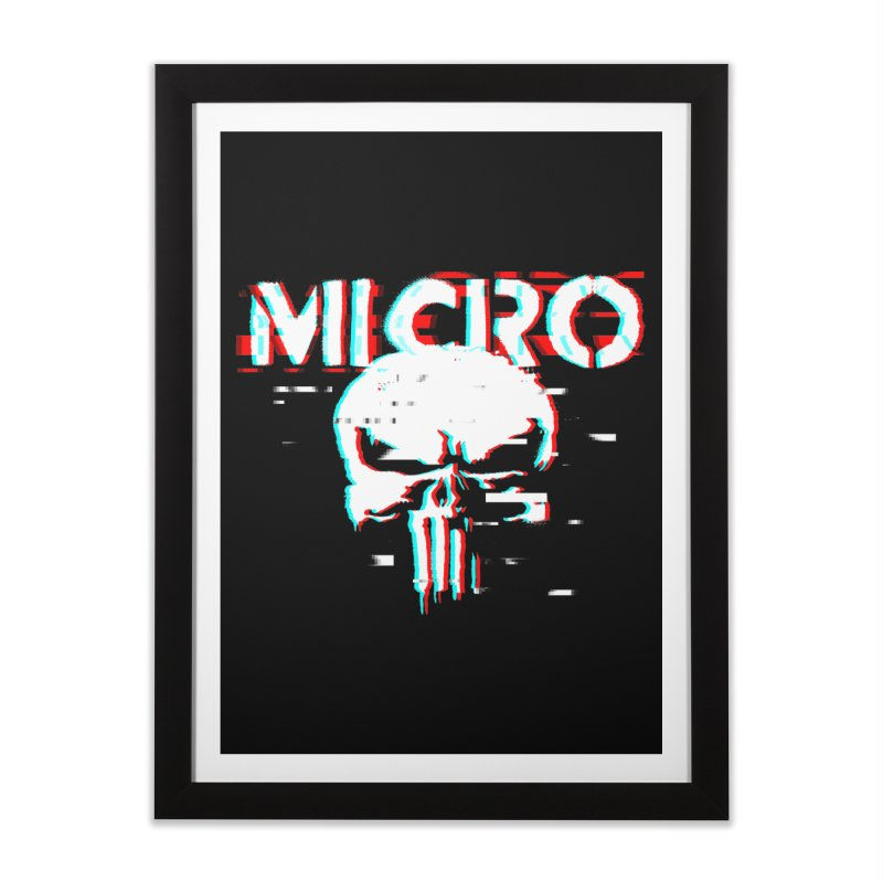 The Punisher's Sidekick Home Framed Fine Art Print by HIDENbehindAroc's Shop