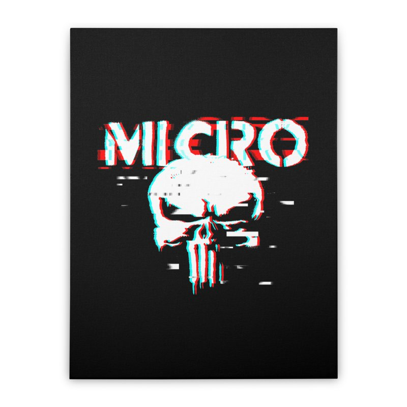 The Punisher's Sidekick Home Stretched Canvas by HIDENbehindAroc's Shop