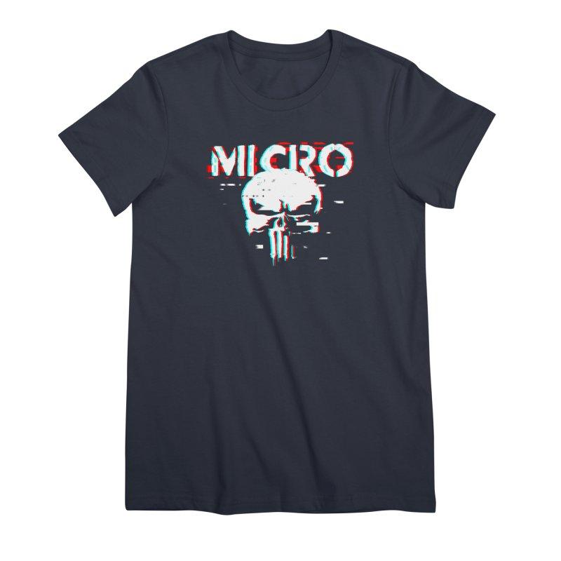 The Punisher's Sidekick Women's Premium T-Shirt by HIDENbehindAroc's Shop