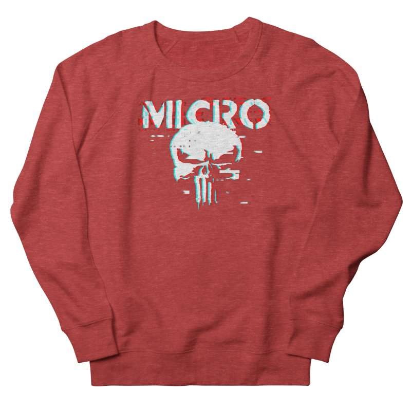 The Punisher's Sidekick Men's French Terry Sweatshirt by HIDENbehindAroc's Shop
