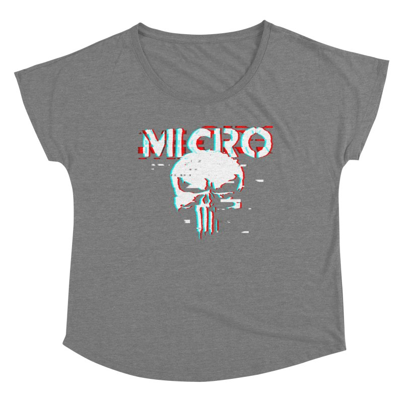 The Punisher's Sidekick Women's Scoop Neck by HIDENbehindAroc's Shop