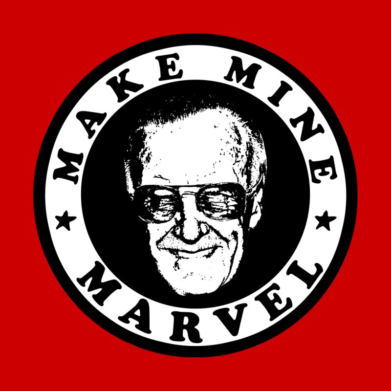 Make Mine Marvel Home Stretched Canvas by HIDENbehindAroc's Shop