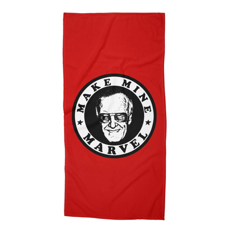 Make Mine Marvel Accessories Beach Towel by HIDENbehindAroc's Shop