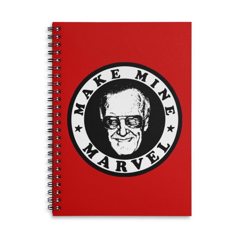 Make Mine Marvel Accessories Lined Spiral Notebook by HIDENbehindAroc's Shop