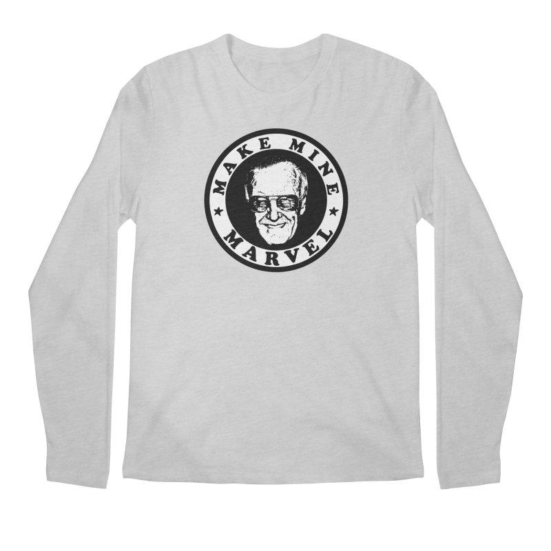 Make Mine Marvel Men's Longsleeve T-Shirt by HIDENbehindAroc's Shop
