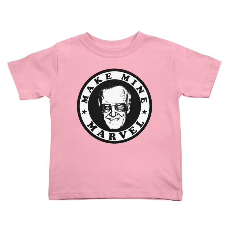 Make Mine Marvel Kids Toddler T-Shirt by HIDENbehindAroc's Shop