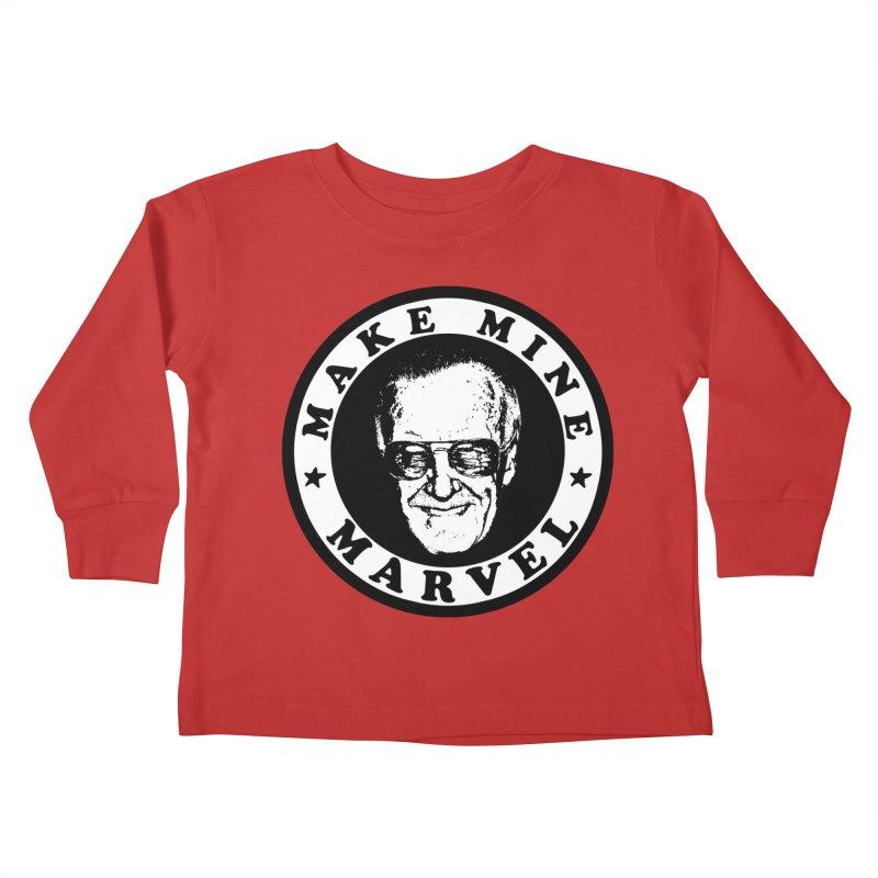 Make Mine Marvel Kids Toddler Longsleeve T-Shirt by HIDENbehindAroc's Shop