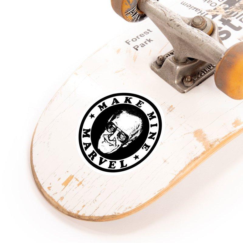 Make Mine Marvel Accessories Sticker by HIDENbehindAroc's Shop