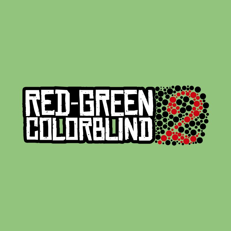 Red Green Colorblind 2 Kids Baby Longsleeve Bodysuit by HIDENbehindAroc's Shop