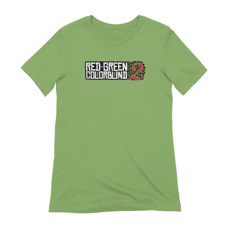 Red Green Colorblind 2 Women's Extra Soft T-Shirt by HIDENbehindAroc's Shop