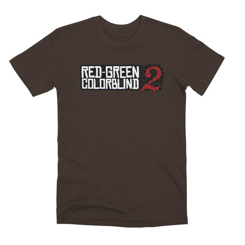 Red Green Colorblind 2 Men's Premium T-Shirt by HIDENbehindAroc's Shop