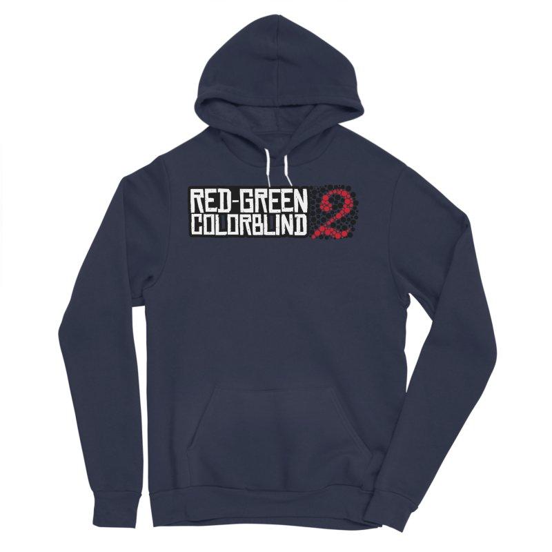 Red Green Colorblind 2 Men's Sponge Fleece Pullover Hoody by HIDENbehindAroc's Shop