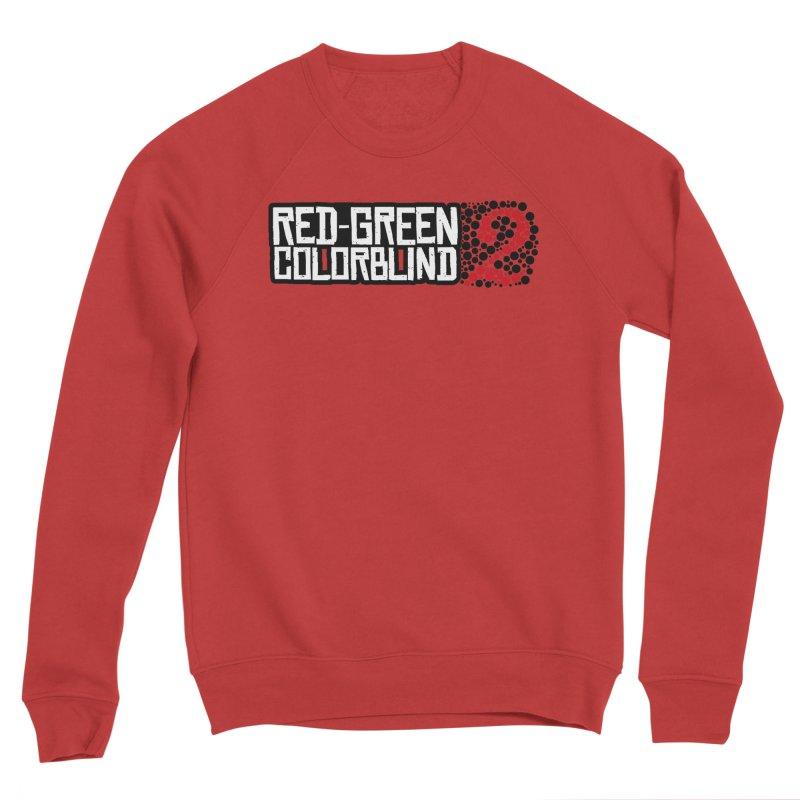 Red Green Colorblind 2 Men's Sponge Fleece Sweatshirt by HIDENbehindAroc's Shop