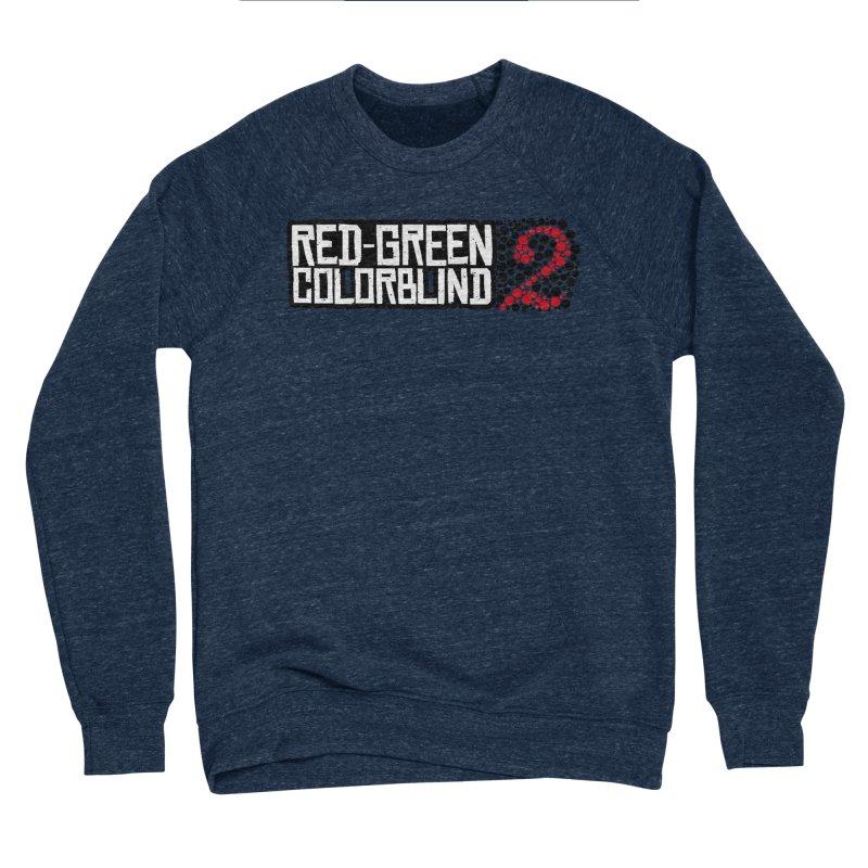 Red Green Colorblind 2 Women's Sponge Fleece Sweatshirt by HIDENbehindAroc's Shop