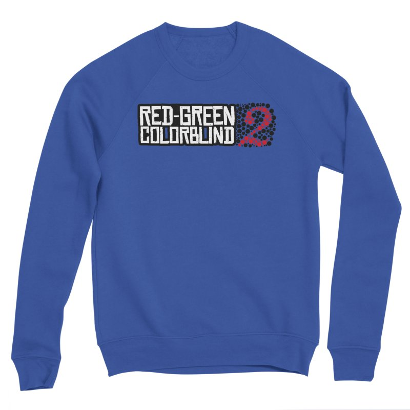 Red Green Colorblind 2 Men's Sponge Fleece Sweatshirt by HIDENbehindAroc's Shop