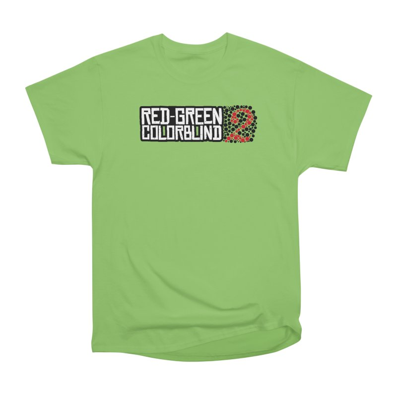 Red Green Colorblind 2 Women's T-Shirt by HIDENbehindAroc's Shop