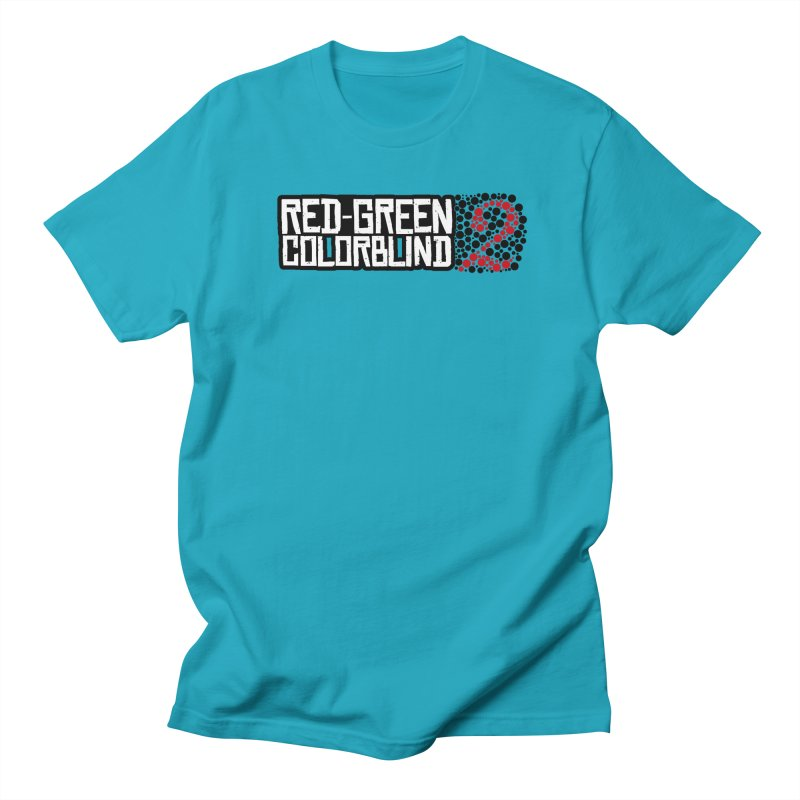 Red Green Colorblind 2 Men's Regular T-Shirt by HIDENbehindAroc's Shop