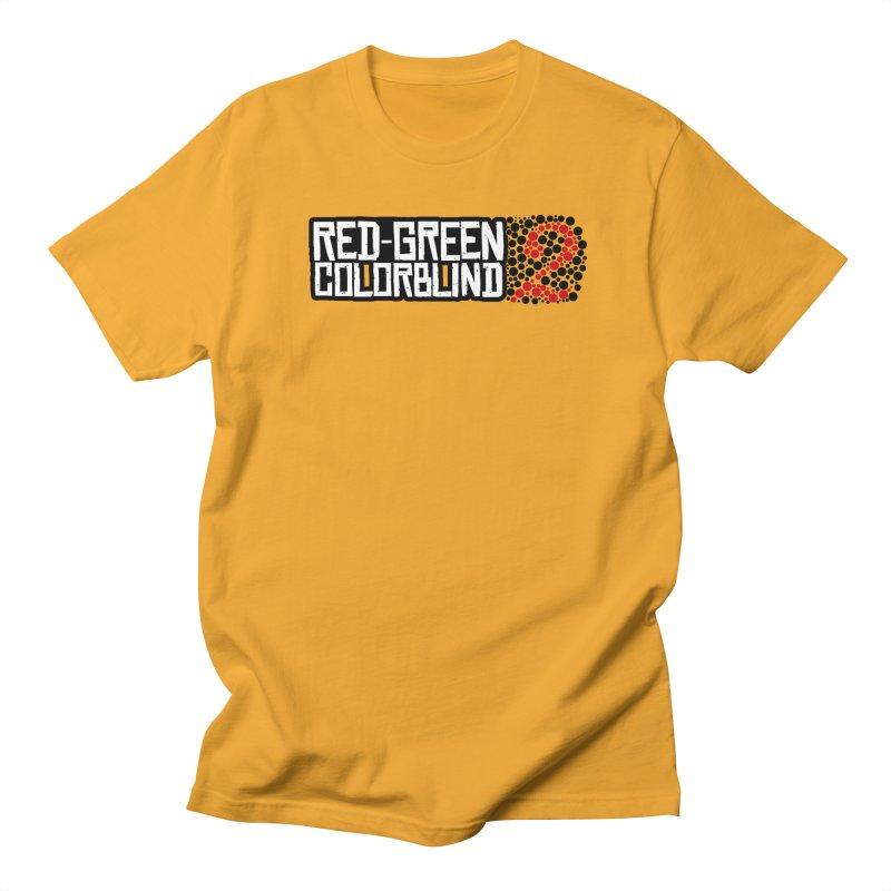 Red Green Colorblind 2 Men's Regular T-Shirt by HIDENbehindAroc's Shop
