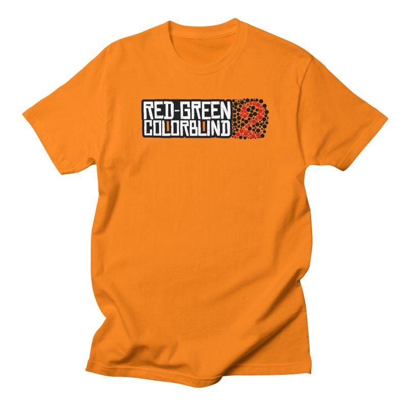 Red Green Colorblind 2 Women's Regular Unisex T-Shirt by HIDENbehindAroc's Shop