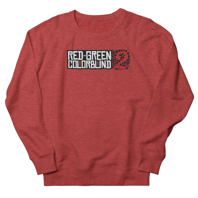 Red Green Colorblind 2 Women's French Terry Sweatshirt by HIDENbehindAroc's Shop