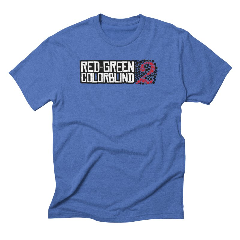 Red Green Colorblind 2 Men's T-Shirt by HIDENbehindAroc's Shop