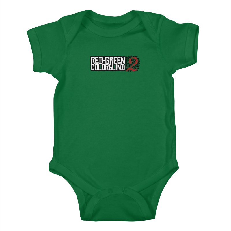 Red Green Colorblind 2 Kids Baby Bodysuit by HIDENbehindAroc's Shop