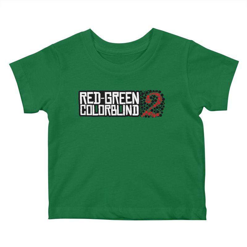 Red Green Colorblind 2 Kids Baby T-Shirt by HIDENbehindAroc's Shop
