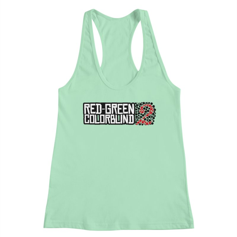 Red Green Colorblind 2 Women's Tank by HIDENbehindAroc's Shop