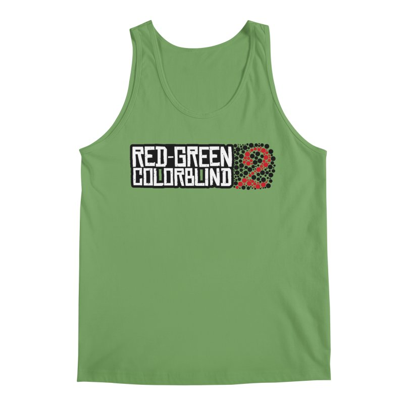 Red Green Colorblind 2 Men's Tank by HIDENbehindAroc's Shop