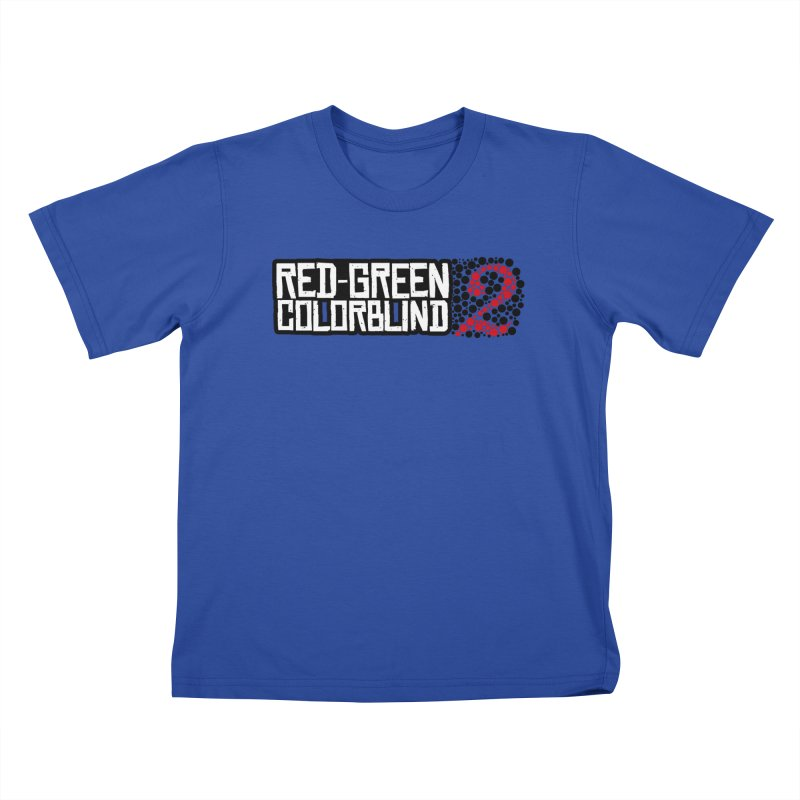 Red Green Colorblind 2 Kids T-Shirt by HIDENbehindAroc's Shop