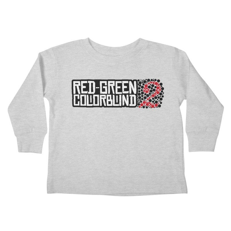 Red Green Colorblind 2 Kids Toddler Longsleeve T-Shirt by HIDENbehindAroc's Shop