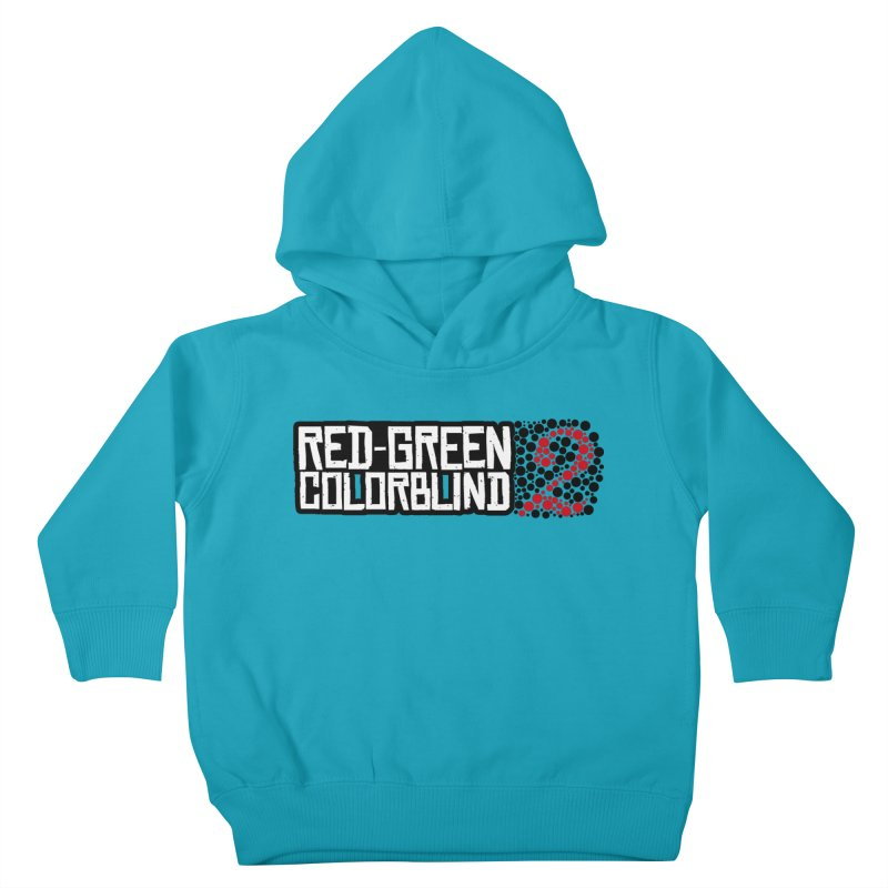 Red Green Colorblind 2 Kids Toddler Pullover Hoody by HIDENbehindAroc's Shop