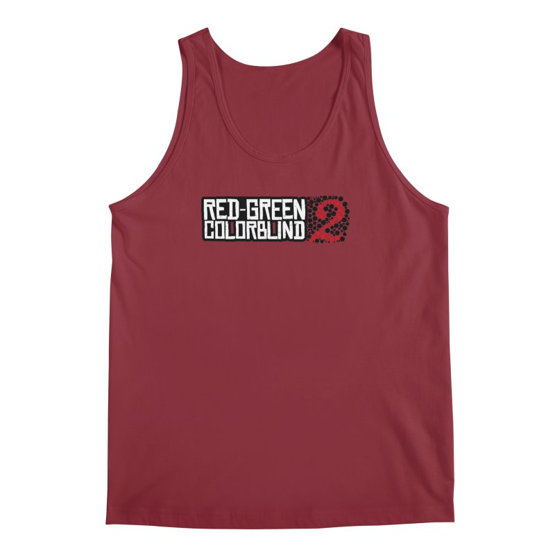 Red Green Colorblind 2 Men's Regular Tank by HIDENbehindAroc's Shop
